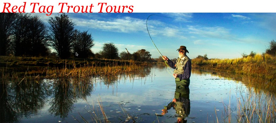 Red Tag Trout Tours header image